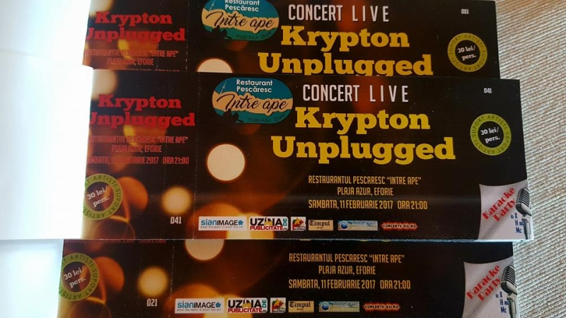POVESTEA  KRYPTON!  Concert Unplugged!