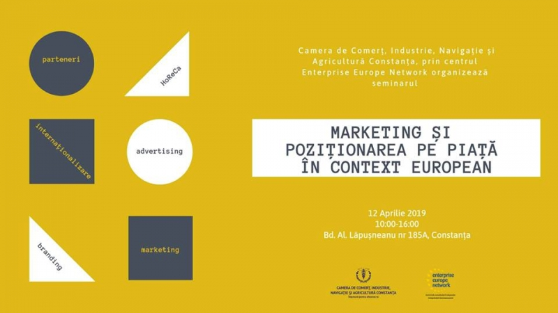 Seminar: Marketing și poziționarea pe piață în context european