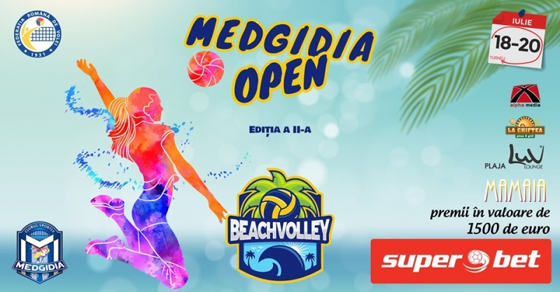 Turneu BeachVolley- Medgidia OPEN- 2019 - Feminin