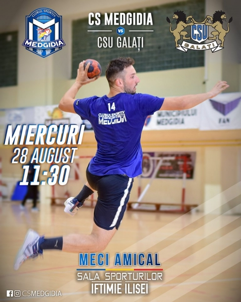 HANDBAL: CS Medgidia vs CSU Galați