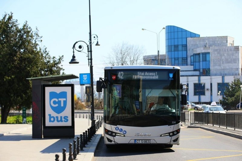 ATENȚIE! Se modifică programul autobuzelor CT BUS