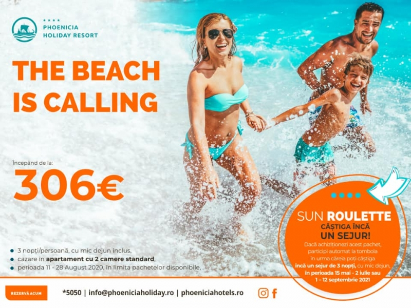 Phoenicia Holiday Resort: The Beach is calling - Sun Roulette!