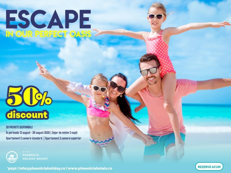 ESCAPE - In our perfect oasis!